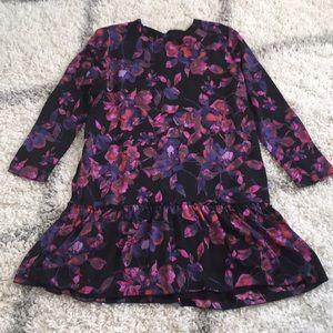 Allison Joy dropped waist floral dress